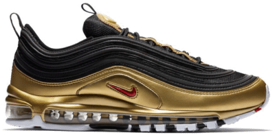 Nike Air Max 97 Black Metallic Gold AT5458-002