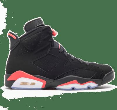 Jordan 6 Retro Black Infrared 2019 (GS) 384665-060