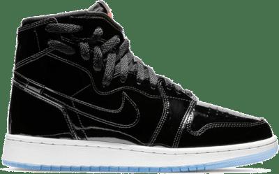 Jordan 1 Rebel XX Black Patent (W) Black/Black-Infrared 23-White AR5599-001