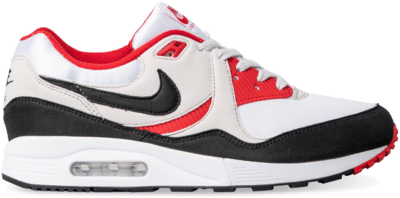 Nike Air Max Light White Black Grey Red AO8285-101