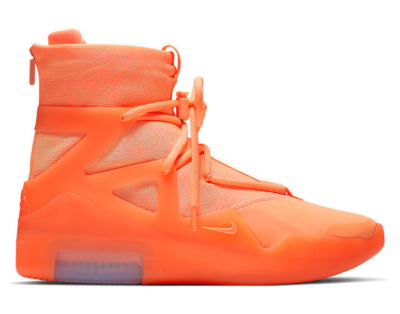 Nike Air Fear Of God 1 Orange Pulse AR4237-800