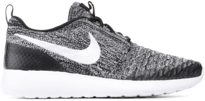 Nike Roshe One Flyknit Black White Cool Grey (W) 704927-010