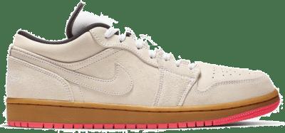 Jordan 1 Low White Gum Hyper Pink 553558-119