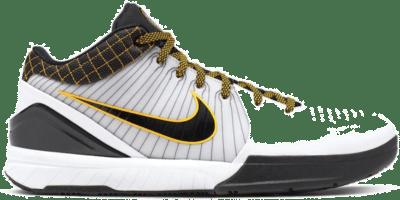 Nike Kobe 4 Protro White Black Del Sol AV6339-101