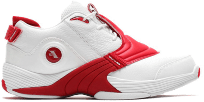 Reebok Answer V Schoenen White / Power Red / None DV6961