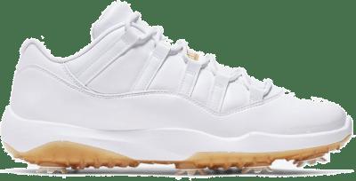 Jordan 11 Retro Low Golf White Metallic Gold AQ0963-102