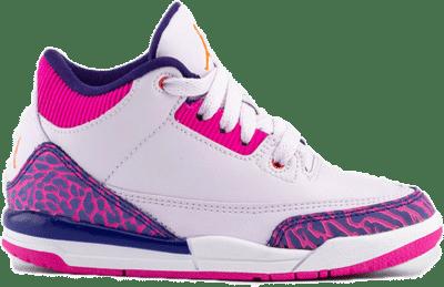 Jordan 3 Retro Barely Grape (PS) 441141-500
