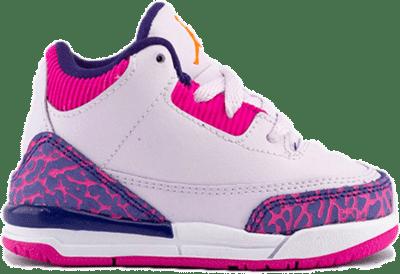 Jordan 3 Retro Barely Grape (TD) 654964-500