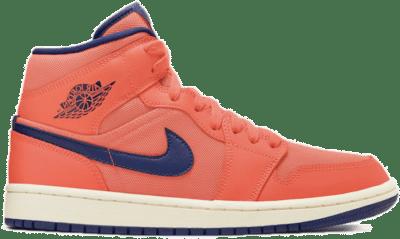 Jordan 1 Mid Turf Orange Blue Void (W) CD7240-804