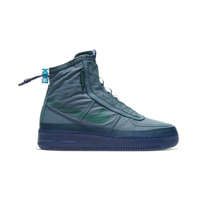 Nike Wmns Air Force 1 Shell Midnight Turquoise BQ6096-300