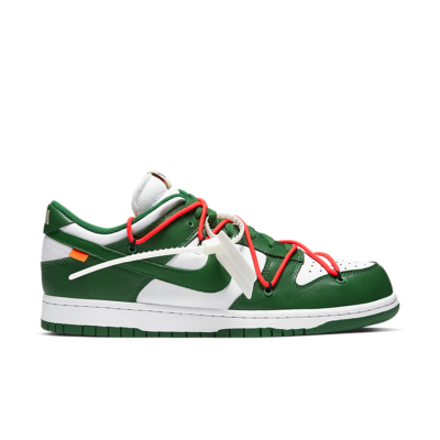 Dunk Low 'Nike x Off-White' White/Pine Green/Pine Green CT0856-100