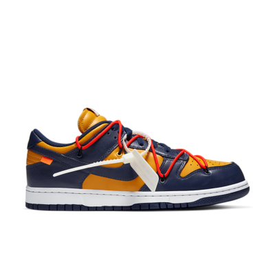 Dunk Low 'Nike x Off-White' University Gold/White/Midnight Navy CT0856-700