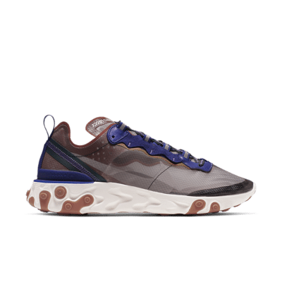 Nike React Element 87 'Dusty Peach' Dusty Peach/Deep Royal Blue/Lucid Green/Atmosphere Grey AQ1090-200