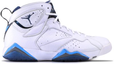 Jordan 7 Retro French Blue (2015) White/French Blue-University Blue-Flint Grey 304775-107