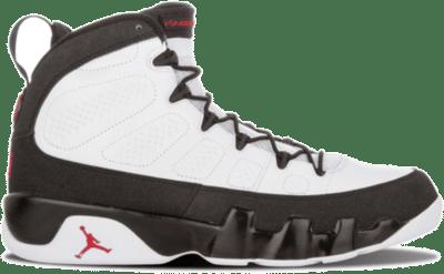 Jordan 9 Retro White Black Red (2010) 302370-102