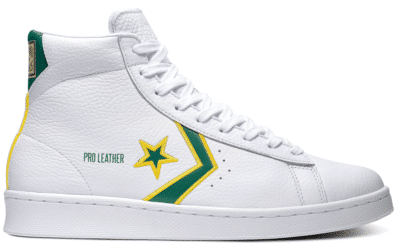 "Converse PRO LEATHER MID ""BOSTON CELTICS"" 167061C"