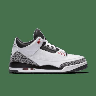 Air Jordan 3 Retro 'Infrared 23'. White/Cement Grey/Infrared 23/Black 136064-123