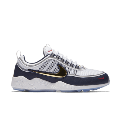 NikeLab Air Zoom Spiridon 'White & Gold' White/Obsidian/True Red/Metallic Gold 849776-174