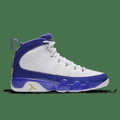 Air Jordan 9 Retro 'Tour Yellow'. White/Concord/Tour Yellow 302370-121