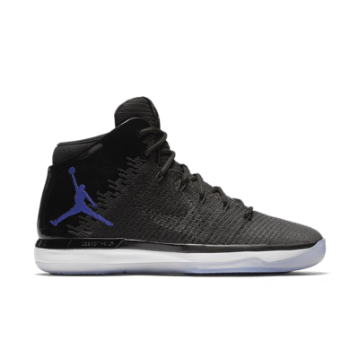 Air Jordan 31 'Black & Concord-White'. Black/Anthracite/White/Concord 845037-002