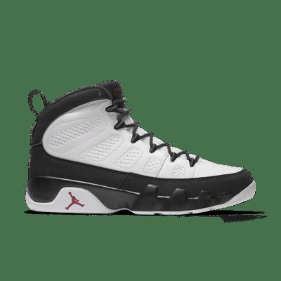 Air Jordan 9 Retro OG 'White & Black' 2016. White/Black/True Red 302370-112