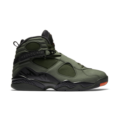 Air Jordan 8 Retro 'Sequoia & Max Orange' Sequoia/Black/Dark Stucco/Max Orange 305381-305