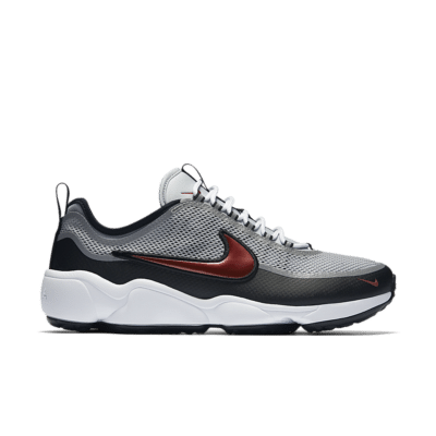 Nike Air Zoom Spiridon 'Metallic Silver & Black' Metallic Silver/Black/White/Desert Red 876267-001