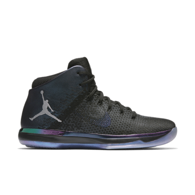 Air Jordan 31 'Gotta Shine' Black/Metallic Silver 905847-004