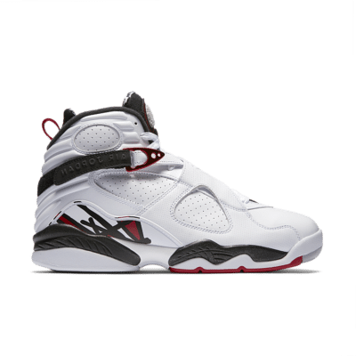 Air Jordan 8 Retro 'White & Black & Gym Red' White/Black/Wolf Grey/Gym Red 305381-104