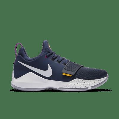 Nike PG 1 'Ferocity' Obsidian/University Gold/Hyper Violet/White 878627-417