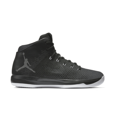 Air Jordan 31 'Black Cat' Black/White/Anthracite 845037-010