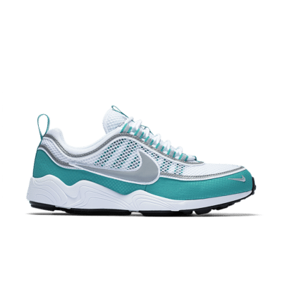 Nike Air Zoom Spiridon 'White & Silver' Blue/Turbo Green/Laser Orange/Silver 849776-102