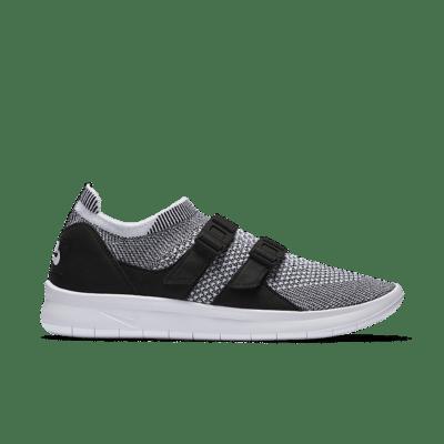 Women's Nike Air Sock Racer Ultra Flyknit 'Black & White' Black/White/White 896447-002