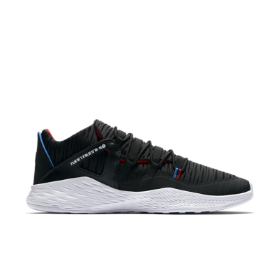 Jordan Formula 23 Low Quai 54 'Black & University Red' Black/University Red/Italy Blue AA7201-054