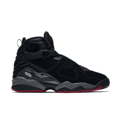 Air Jordan 8 Retro 'Black & Gym Red' Black/Black/Wolf Grey/Gym Red 305381-022