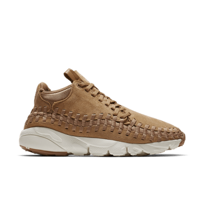 Nike Air Footscape Woven Chukka 'Natural Weave'. Flax/Sail/Gum Medium Brown/Flax 443686-205