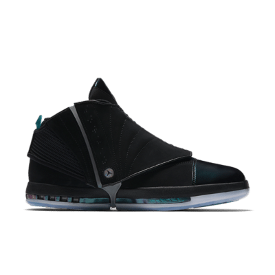 Air Jordan 16 Retro 'Boardroom' Black/Turbo Green/Court Purple/Metallic Silver AA1235-003