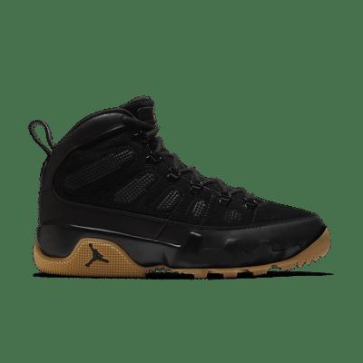 Air Jordan 9 Retro Boot NRG 'Black & Gum Light Brown' Black/Gum Light Brown/Black AR4491-025