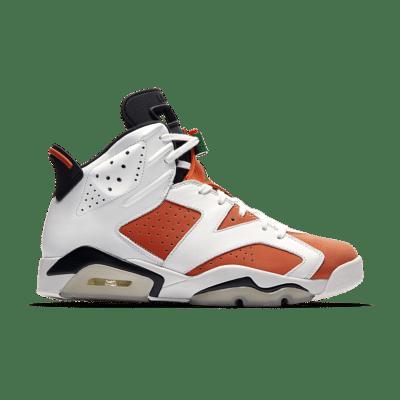 air Jordan 6 'Like Mike' Summit White/Black/Team Orange 384664-145