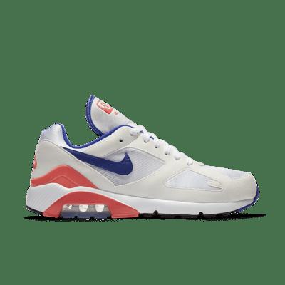Nike Air Max 180 'White & Ultramarine & Solar Red' White/Solar Red/Ultramarine 615287-100