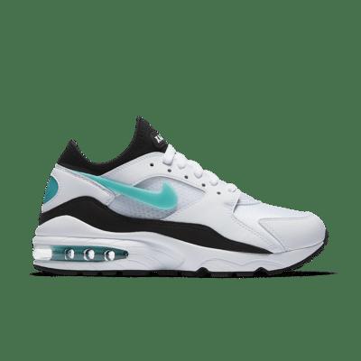 Nike Women's Air Max 93 'White & Sport Turquoise' White/Black/Dusty Cactus 307167-100