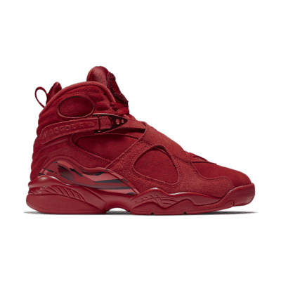 Women's Air Jordan 8 'Valentine's Day' Gym Red/Team Red/Black/Ember Glow AQ2449-614