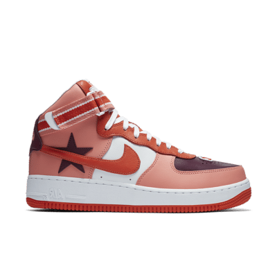 Nike Air Force 1 High x RT 'Sunblush & Bordeaux' Sunblush/Team Orange/Black/Bordeaux AQ3366-601