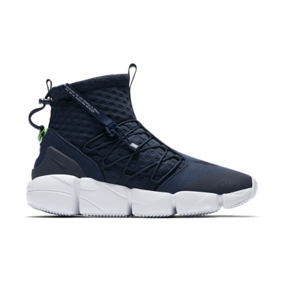 Nike Air Footscape Mid Utility 'Obsidian & White' Obsidian/Spinach Green/White/Thunder Blue 924455-400