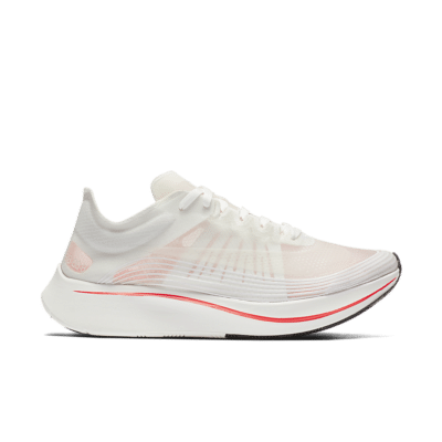 Nike Women's Zoom Fly SP 'White & Bright Crimson' White/Bright Crimson/Sail AJ8229-106