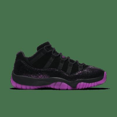 Women's Air Jordan 11 Low Maya Moore 'Art of a Champion'. Black/Fuchsia Blast AR5149-005