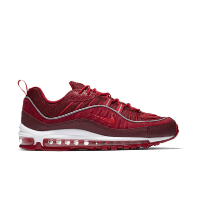 Nike Air Max 98 'Team Red & Habanero Red' Team Red/Gym Red/White/Habanero Red AO9380-600