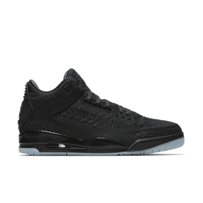 Air Jordan 3 Flyknit 'Black & Anthracite' Black/Anthracite/Black AQ1005-001