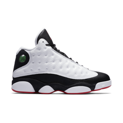 Air Jordan 13 Retro 'White & True Red & Black' White/Black/True Red 414571-104