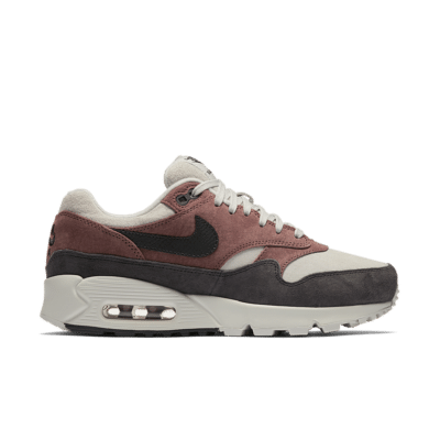 Nike Women's Air Max 90/1 'Red Sepia & Oil Grey' Red Sepia/Vast Grey/Oil Grey AQ1273-200